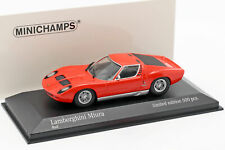 Lamborghini Miura Baujahr 1966 rot 1:43 Minichamps