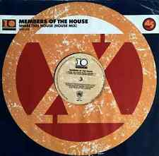 """MEMBERS OF THE HOUSE - Share This House (House Mix) (12"""") (VG+/G-)"""