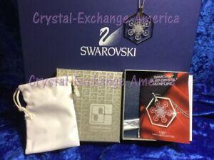 Swarovski Crystal Christmas 1981 Ornament Pendant SCO1981 MIB