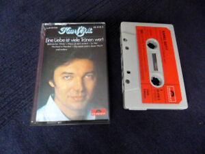 KASSETTE Karel Gott Eine Liebe Ist Viele Tränen Wert Polygram Polydor MC 1980