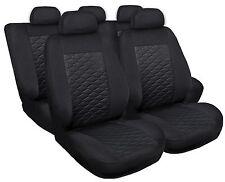 Sitzbezüge Sitzbezug Schonbezüge für Opel Astra Schwarz Modern MP-1 Komplettset