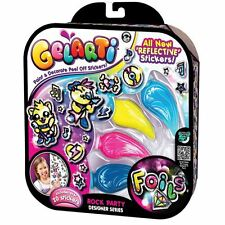 Gelarti Foil Designer Series Glitzi Rock Party Glow Art Craft Foils Stickers