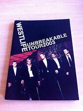WESTLIFE - Unbreakable Tour  2003  Tour Programme POP