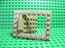 Lego NEW dark tan Castle trap door 6 x 8 (2 pieces)