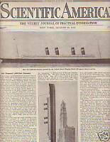 1919 Scientific American August 16 - U.S.1000 foot Ship