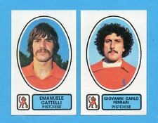 PANINI CALCIATORI 1977/78 - Figurina n.480- GATTELLI+FERRARI-PISTOIESE -Rec