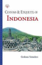 Dogana e etichetta dell'Indonesia __ Nuovissimo __ FREEPOST UK