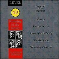 Running In The Family (Platinum Edition) von Level 42 | CD | Zustand gut