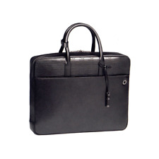 106044 Montblanc / 4810 Westside Black Mystery/Business Bag / Cuir Noir