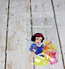 Disney Plastic Card & Phone Holder Lanyard Snow White & Sleeping Beauty