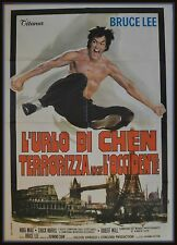 manifesto 2FG L'URLO DI CHEN TERRORIZZA ANCHE L'OCCIDENTE BRUCE LEE NORIS JAPAN