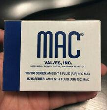 Mac TM-DFFJ-1JM C26122 Solenoid Valve