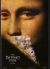 THE DA VINCI CODE  Authentic 27x40 D/S Movie Poster.