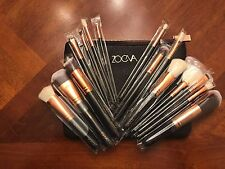 Make Up Kit Rose Golden Luxury Set 15 pcs Face&Eye shadow Powder Blending Brush