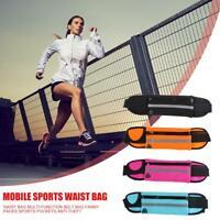 Waterproof Running Belt Bum Waist Pouch Fanny Pack Camping Sports Hiking Bag