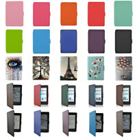 PU Leather Case Cover Magnetic Foldable For Amazon Kindle Paperwhite 1 2 3 LOT