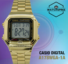 Casio Digital Watch A178WGA-1A AU FAST & FREE