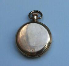 Vintage 10ct rolled gold 15 jewel Waltham Full Hunter Pocket Watch. USA