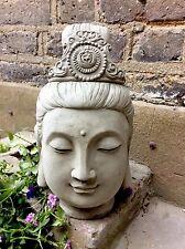 Very Large Beautifully Detailed Kwan Yin Buddhas Head Statue From Designer Sius