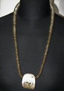 Designer  Kette Heller/Engel Silber 925   mit  Ammolithanhänger