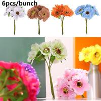 blossoms de soie le scrapbooking couronne faux bouquet fleurs artificielles