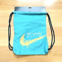 mezcla rodear metálico  Nike Unisex Logo Graphic Gym Sack Black/White BA5262-015 883419421754 | eBay