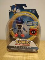 Sonic The Hedgehog 4-Inch Articulated Figure - Metal Sonic with Trap Spring RARE