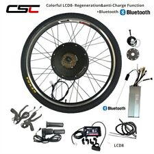 Electric Bike Conversion Kit E BIKE 48V 500 1000W 1500W Bicycle Motor Wheel