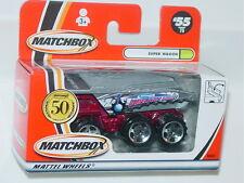 MATCHBOX WINDOW BOX 2002 #55 SUPER WAGON