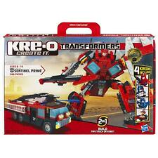 KRE-O TRANSFORMERS Construction - Sentinel Prime #30687 (w/ 4 Kreons) NEW Kre o