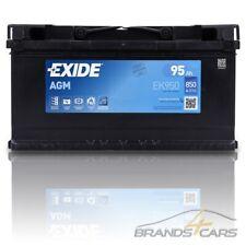 EXIDE AUTOBATTERIE 12V 95Ah STARTERBATTERIE 850A EK950 AGM MICRO-HYBRID