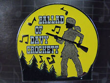 Disney Magical Musical Moments Trading Pin #40 Ballad of Davy Crockett DS