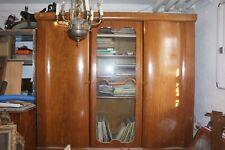 Art Deco Schlafzimmer Wohnzimmerschrank Gebaucht Mittelglas Mahagoni um 1920