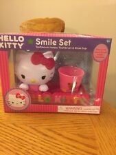 Hello Kitty Smile Set Toothbrush Holder Toothbrush And Rents Cup