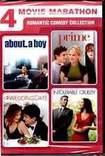 4 Movie Marathon: Romantic Comedy Collection (DVD, 2012, 2-Disc Set)