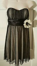 NWT Womens Speechless black ivory wedding prom party Dress Macys Msrp $69.00