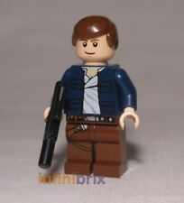 Lego Han Solo with Blue Jacket from Set 8129 AT-AT Walker Star Wars NEW sw290