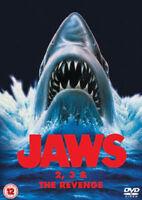 Jaws/ Jaws 2 / Jaws 3 4 - The Revenge DVD Nuevo DVD (8272810)