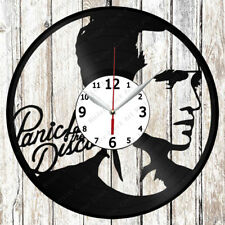 Panic at the Disco Vinyl Record Wall Clock Art Home Decor Original gift 2780