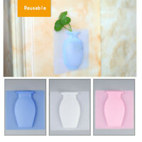 Silicone Sticky Vase Decorative Adhesive Flower Holder for Home Decor 81