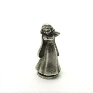 2001 Monopoly Disney Edition Parts Pieces- Snow White Metal Pewter Figure