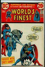 "DC Comics WORLD""S FINEST #217 BATMAN And SUPERMAN Metamorpho FN 6.0"