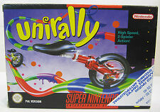 SNES SUPER NINTENDO UNIRALLY EUROPEAN PAL BRAND NEW & UNUSED
