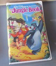 WALT DISNEY~THE JUNGLE BOOK~Black Diamond CLassics~VHS 1122