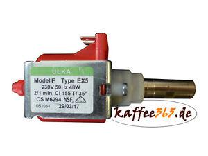 ULKA EX5 Wasserpumpe, 230V 50Hz 48W, Pumpe für ECM, Gaggia, Isomac, Lavazza, SPM