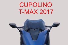 CUPOLINO SPOILER PLEXIGLASS FUME' NERO BASSO PER YAMAHA T-MAX TMAX 530 2017>