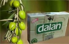 4 Dalan Barras de Jabón Baño turco aceite de oliva Piel Seca Anti Caspa natural 125 Grms