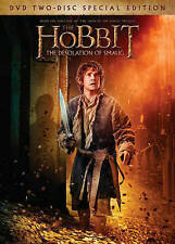 The Hobbit: The Desolation of Smaug (DVD, 2014, 2-Disc Set, Includes Digital...