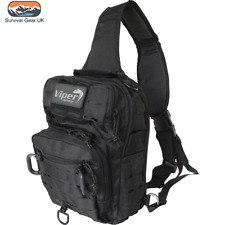 Viper Military Lazer Shoulder MOLLE Pack Operator Carry Bag 10L - Black