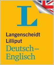 NEU: Langenscheidt Lilliput Deutsch-ENGLISCH - Das kleine Mini-Wörterbuch